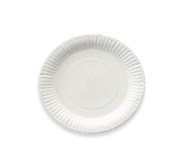 Tanjir kartonski d=170 mm bijeli (100 kom/pak)