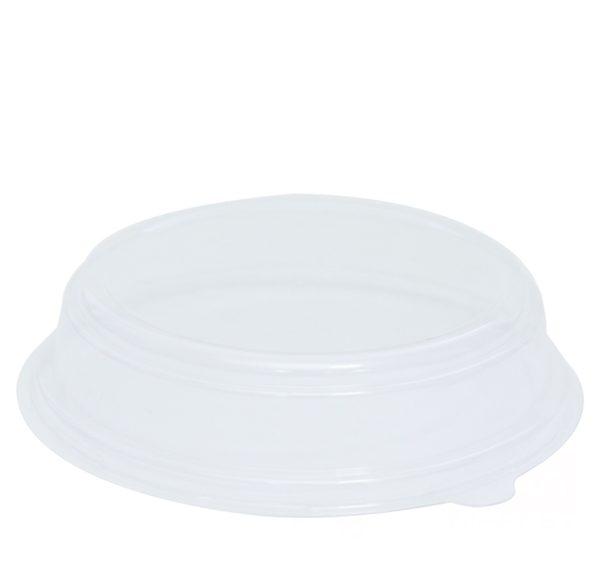 Kartonska posuda za salate sa poklopcem 750 ml d=150 mm h=60 mm kraft 50 kom (komplet)