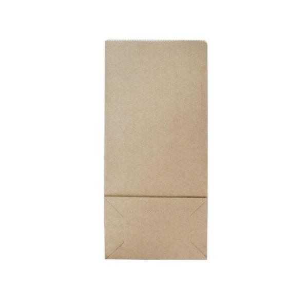Kesa papirnata sa prozorom 80х50х170 mm kraft 70 (600 kom/pak)