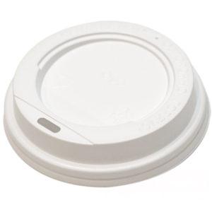 Poklopac sa bočnim otvorom PS d=72 mm bijeli (100 kom/pak)