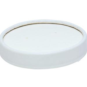 Papirnat poklopac za supu Tambien ECO, d = 90 mm, bijela (25 kom/pak)