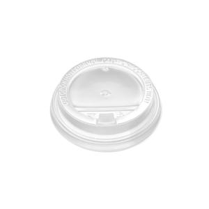 Poklopac sa jezičkom PP, d=90 mm, bijela (100 kom/pak)