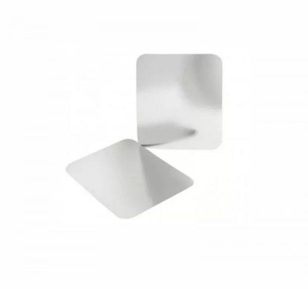 Aluminijumska posuda sa poklopcem 490 ml 150х124х44 mm, 100 kom (komplet)