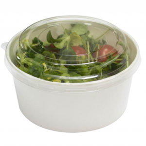 Poklopac PET, d=146 mm za posudu za salatu 750 ml (50 kom/pak)
