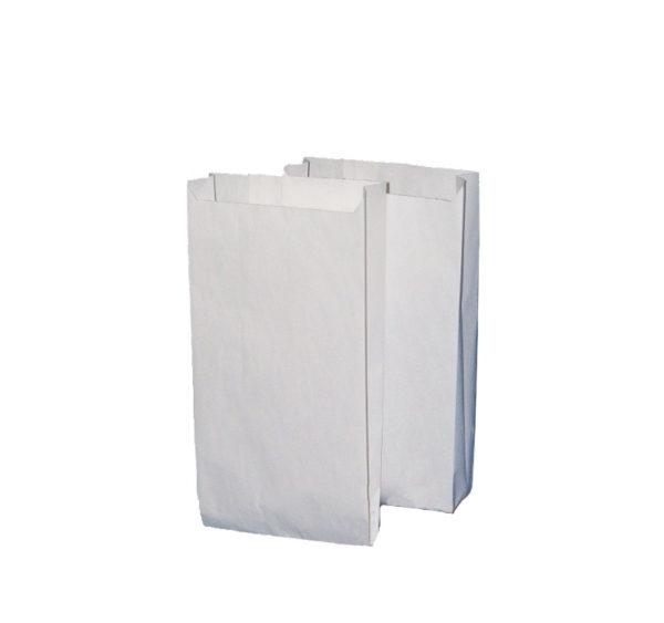 Papirna kesa 140x60x290 mm bijela (2000 kom/pak)