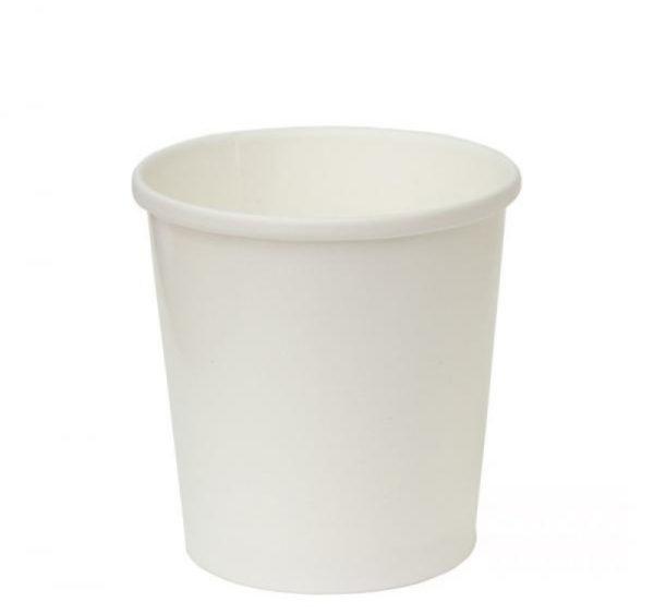 Kartonska posuda za supu Tambien ECO 340 ml d-90mm, h-85mm, bijela sa poklopcem, 50 kom (komplet)