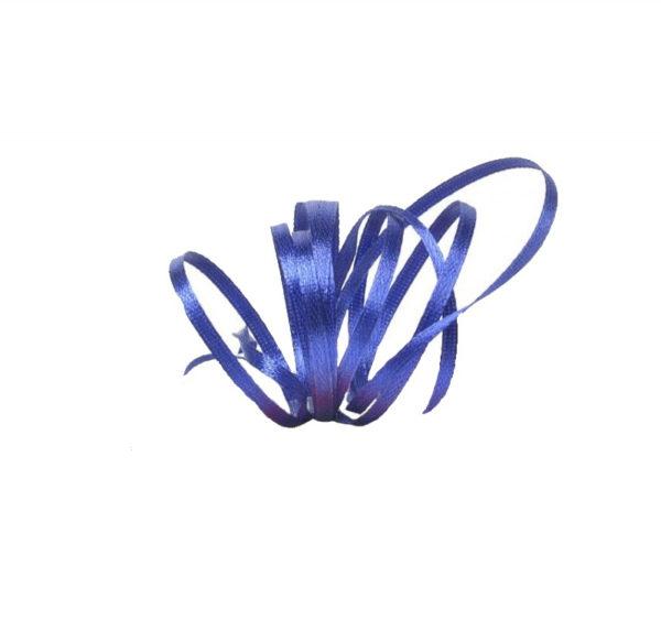 Satenska vrpca 3mm x 100 m plava