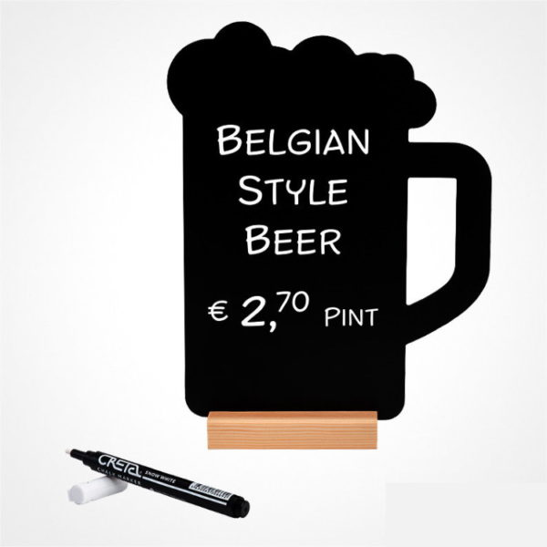 Daska za kredu Šalica za pivo I marker #1