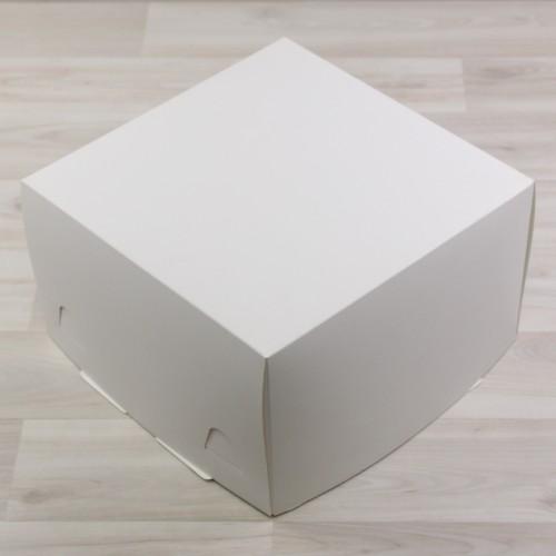Kutija za tortu 250x250x150 mm  bijela (300 kom/pak)