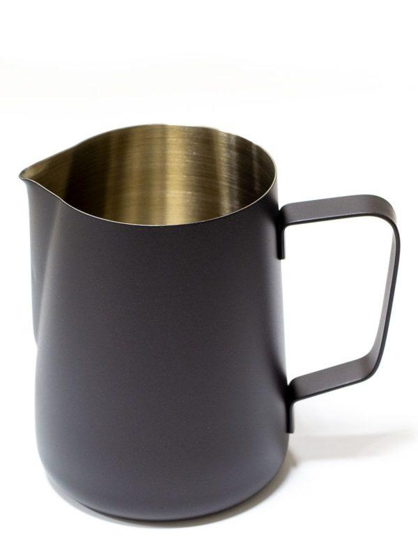 Vrč za mlijeko od nehrđajućeg čelika 600 ml crni